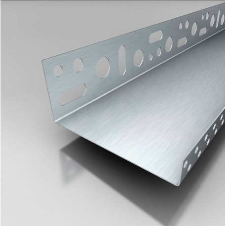 PERFIL ARRANQUE LATERAL ALUMINIO 100 mm 10 UDS SATE